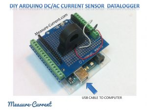 72 Amp DIY Arduino Data Logger