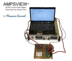 Ampsview free LabVIEW RS232 data logging software reads RS232 binary stream